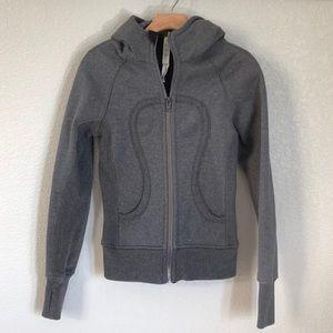 Lululemon Scuba Sparkle Hoodie Sweatshirt Size 2